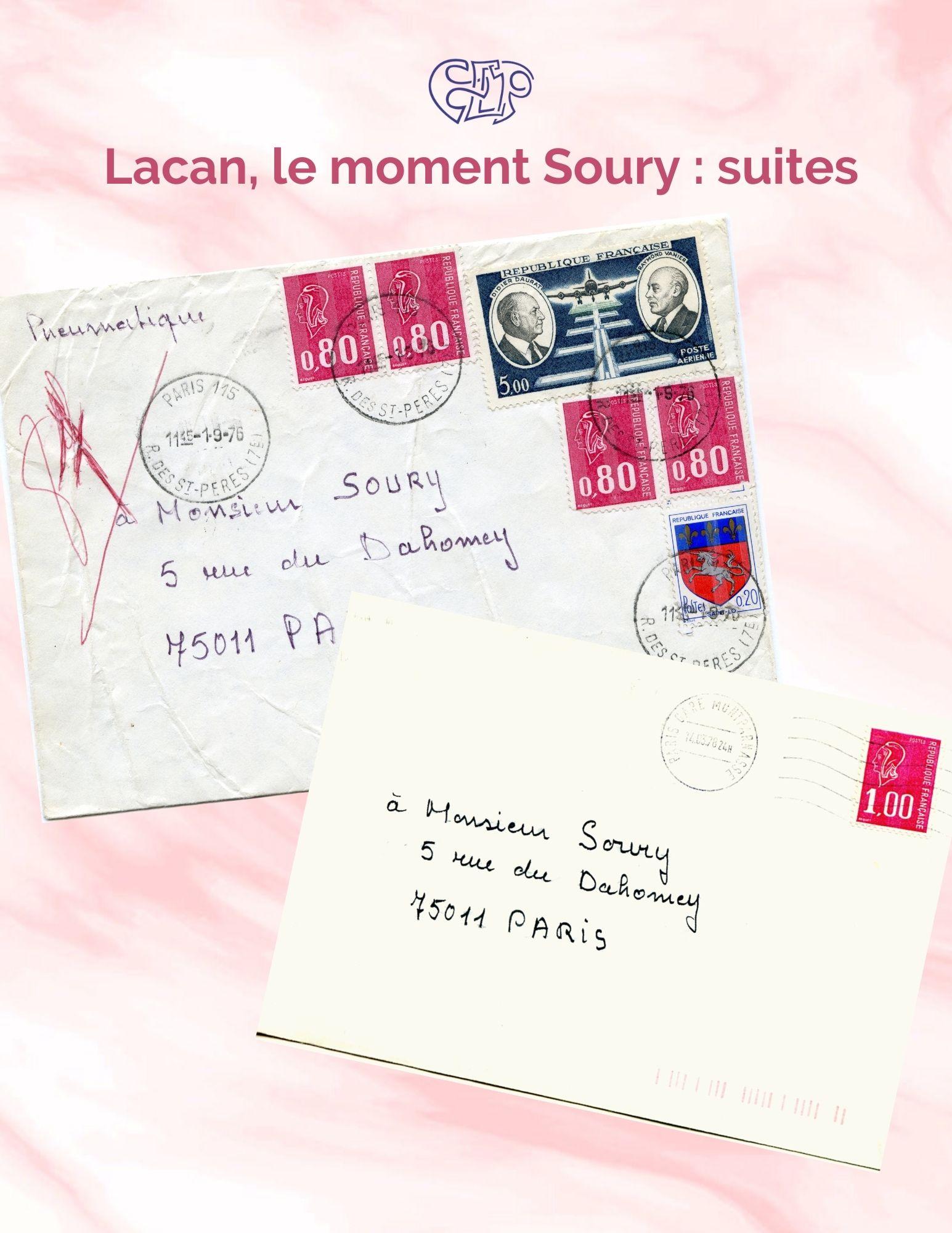 Lacan, el momento Soury: Suite 1